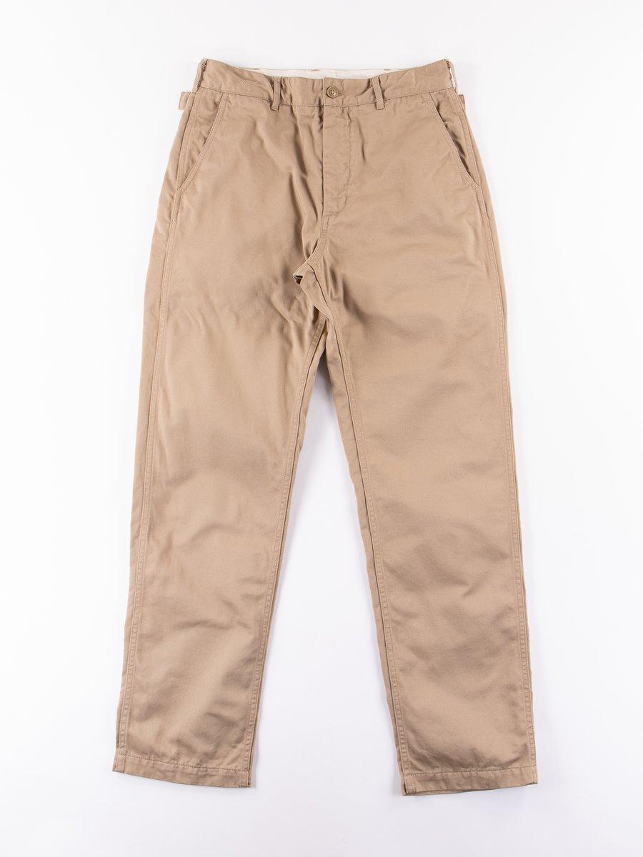 Khaki Chino Twill Ground Pant