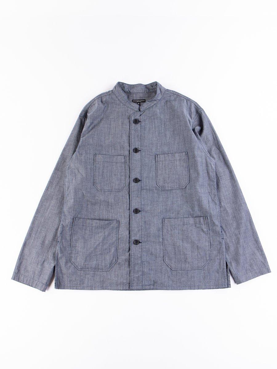 Indigo Cotton Chambray Dayton Shirt