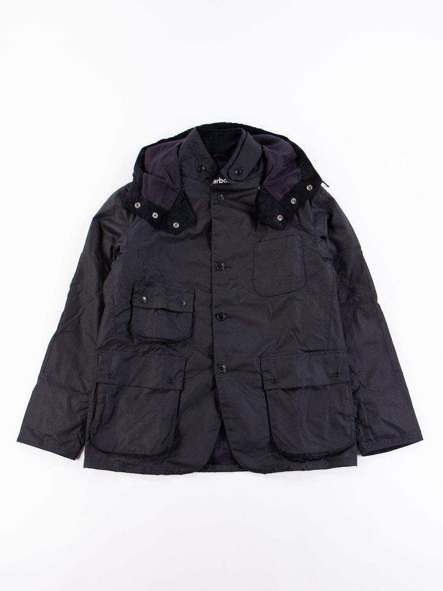 Navy Upland Wax Jacket