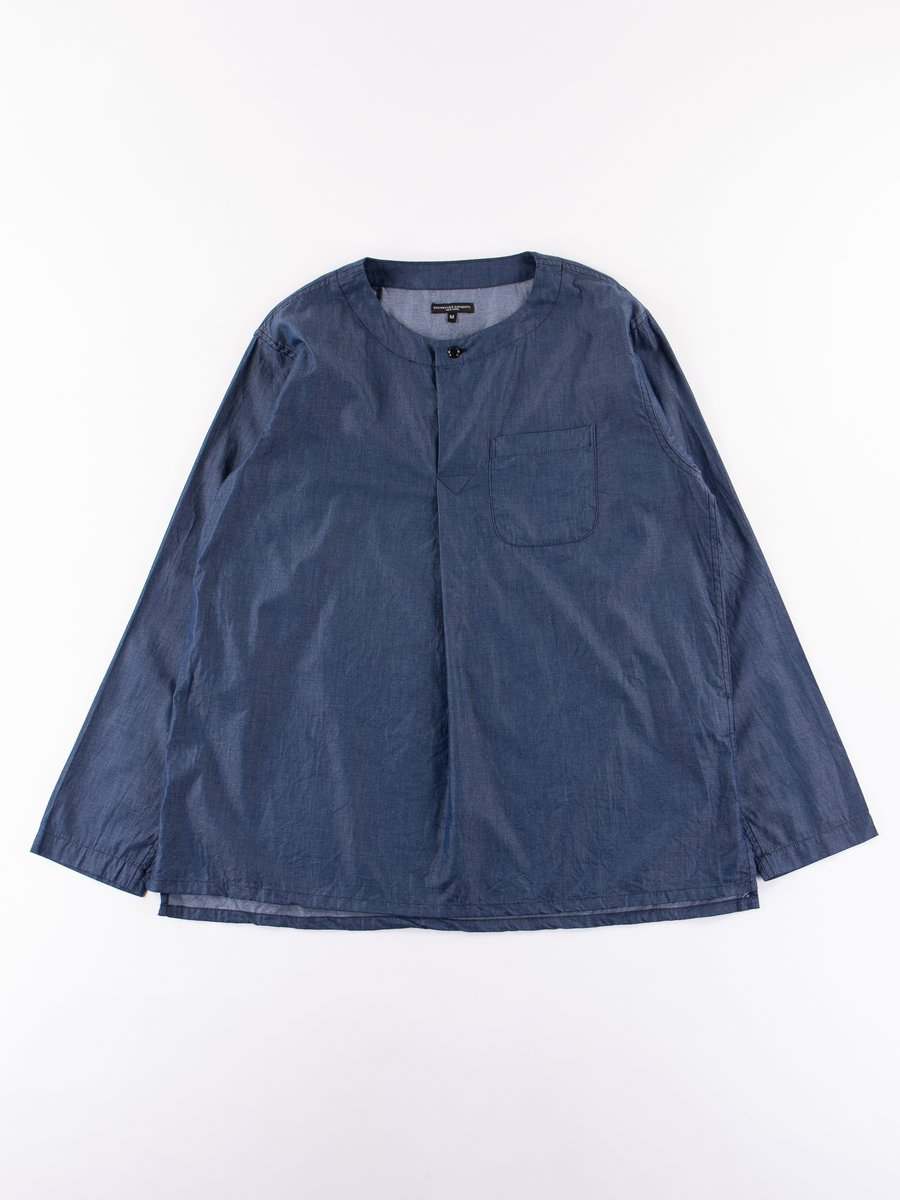 Navy Light Weight Denim MED Shirt