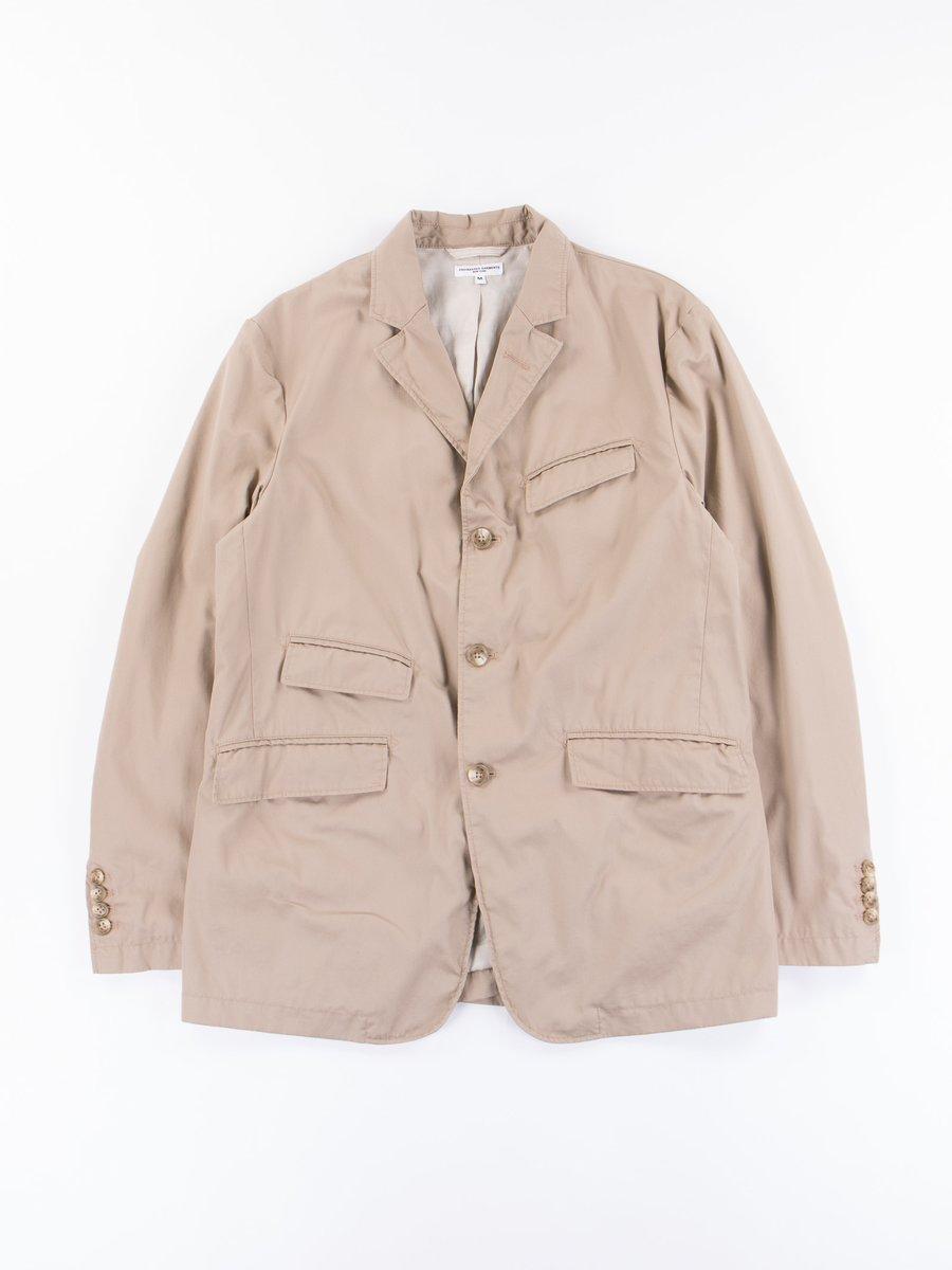 Khaki High Count Twill Andover Jacket