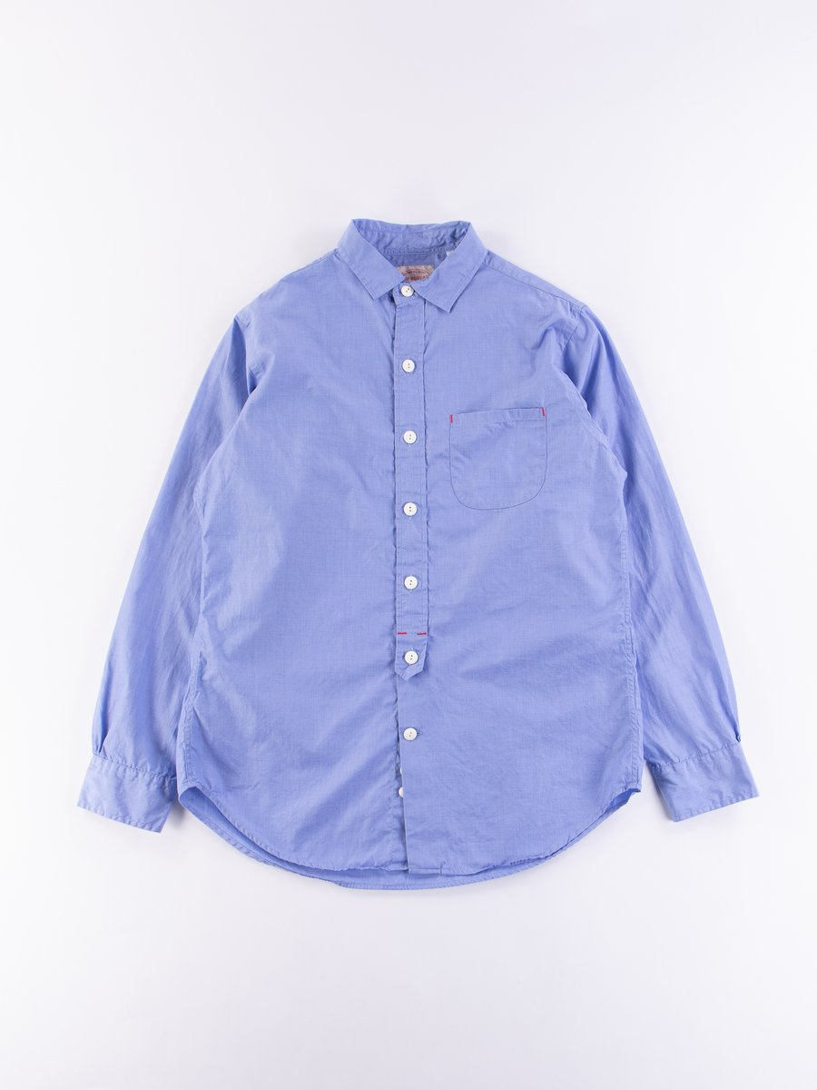 Blue End On End Standard Shirt