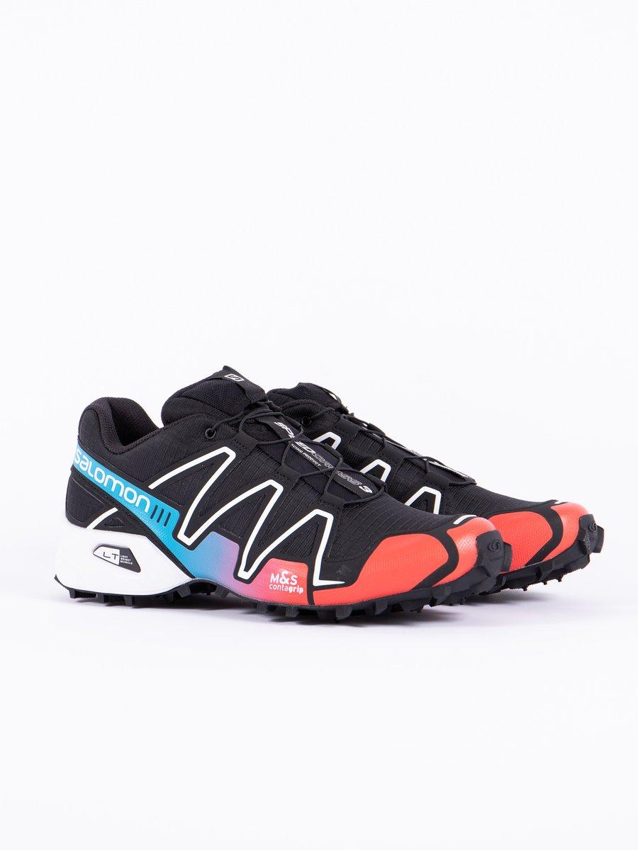 Black/Red/Transcend Blue Speedcross 3 Adv