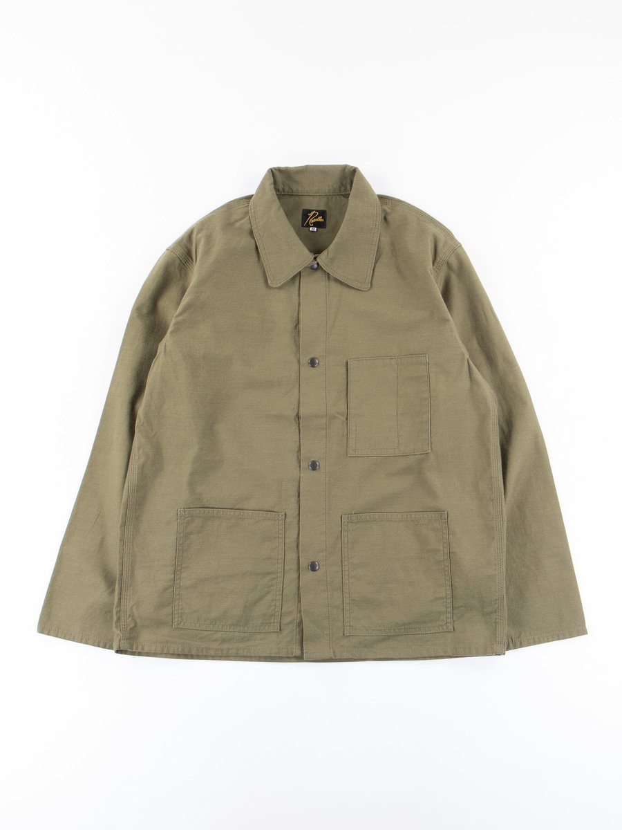 Olive Back Sateen T.N. Coverall
