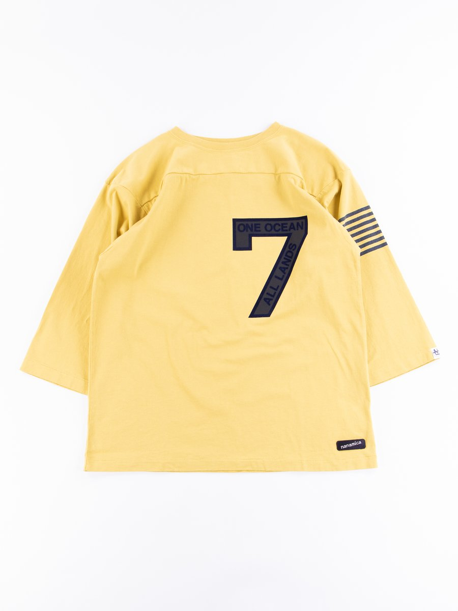 Yellow Football Tee