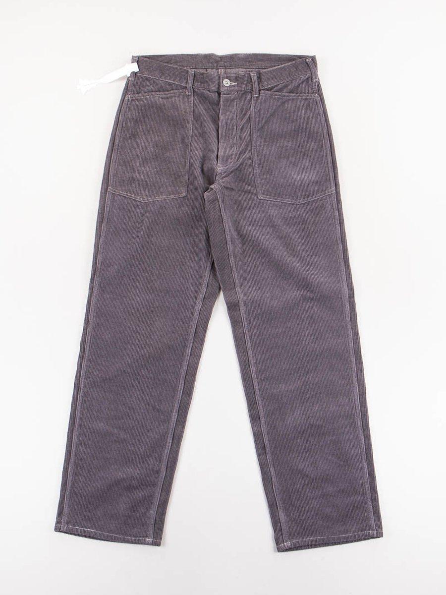 Charcoal Grey Army Denim Trousers