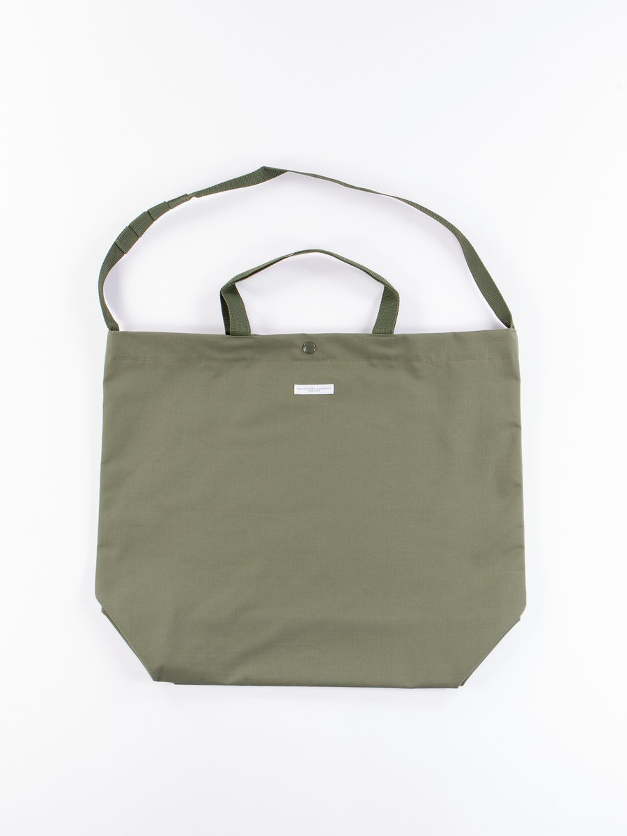 Olive Cotton Ripstop Carry All Tote
