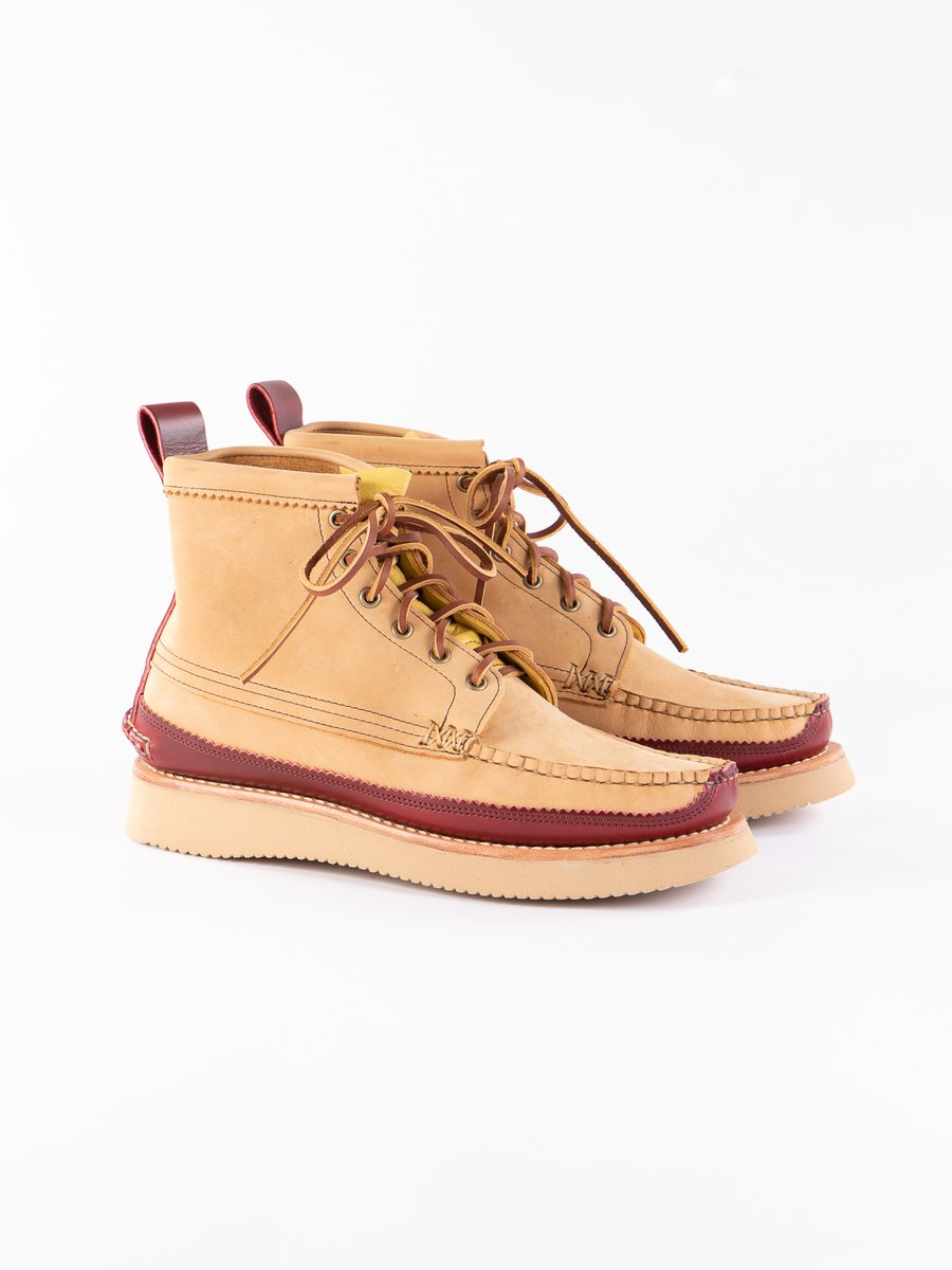 DB Brown x C Red Maine Guide 6 Eye DB Boot Exclusive