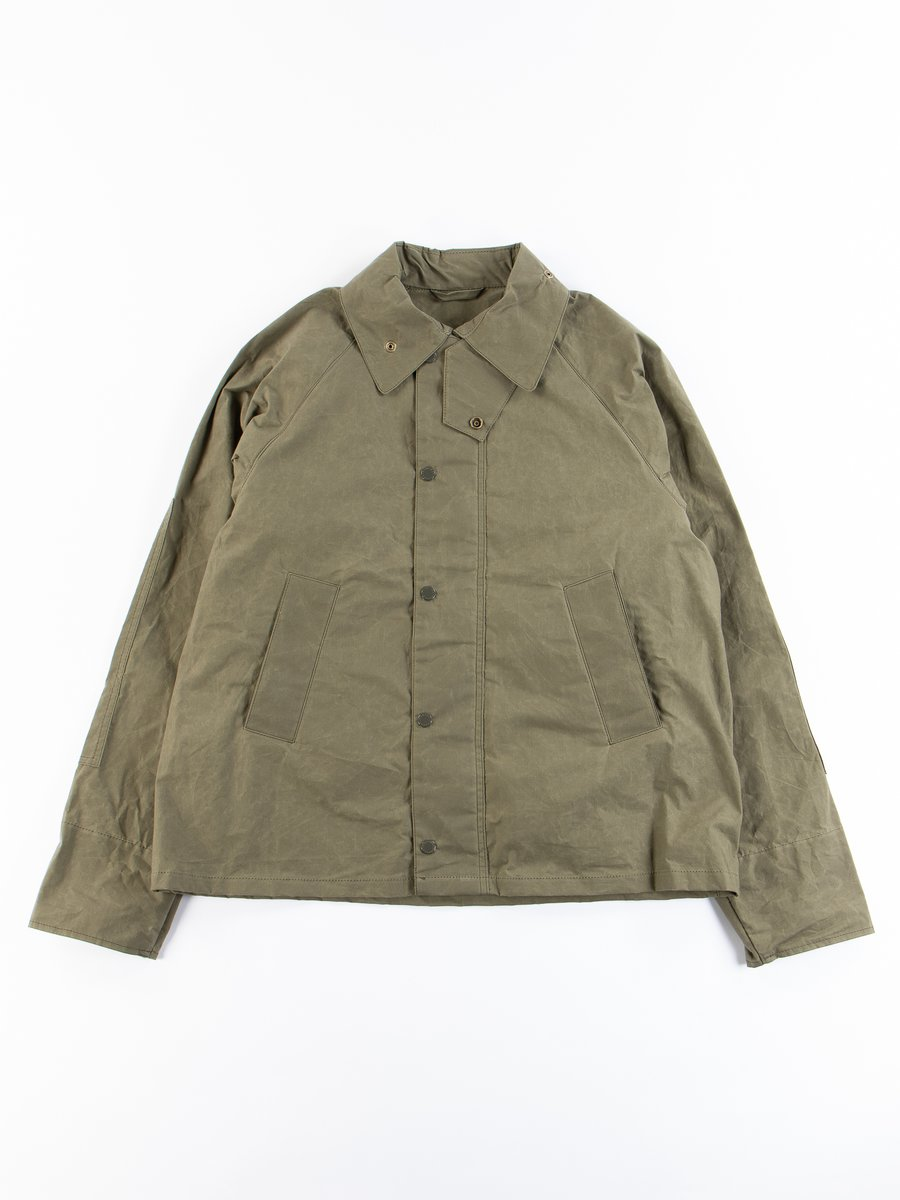 Olive Unlined Graham Jacket