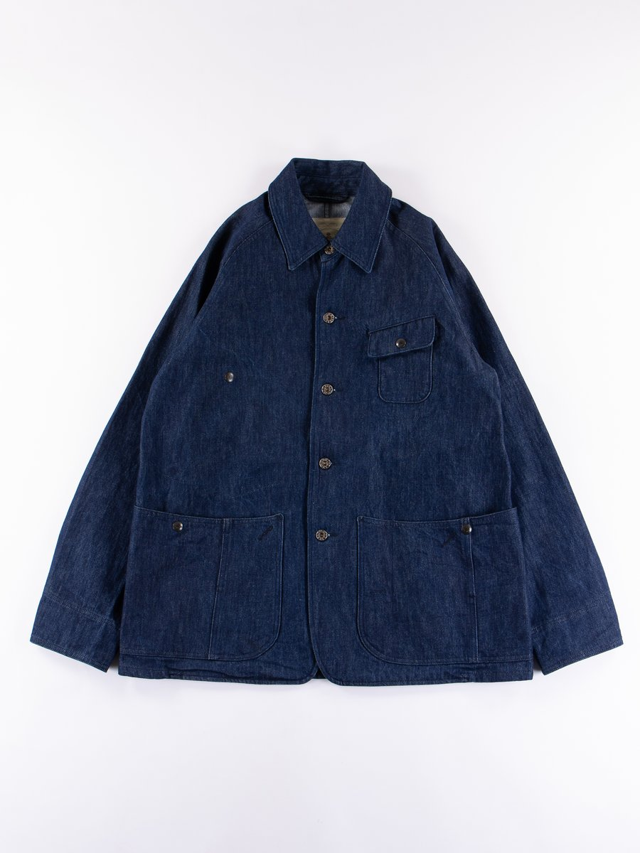 Indigo Cone Denim 14.25oz Gardening Jacket