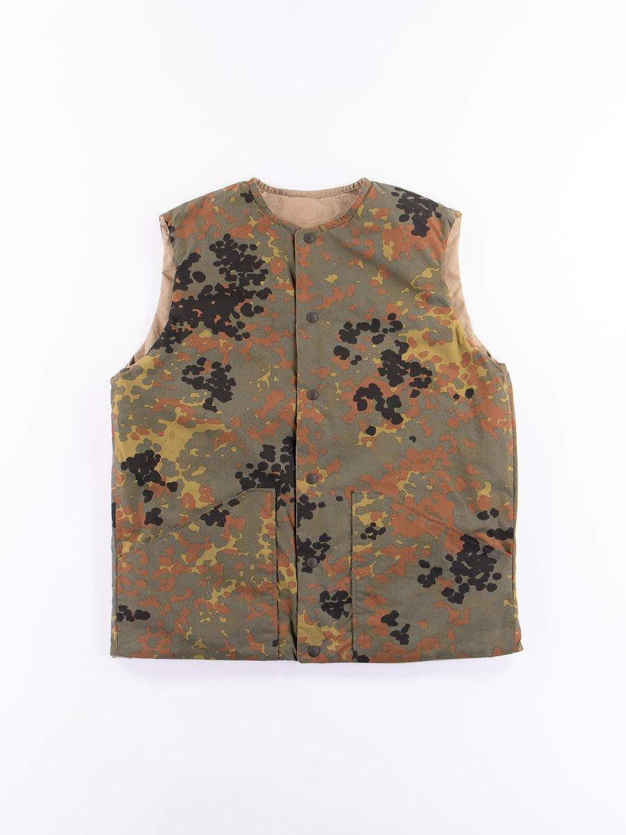 Camo/Khaki Reversible Shell Vest