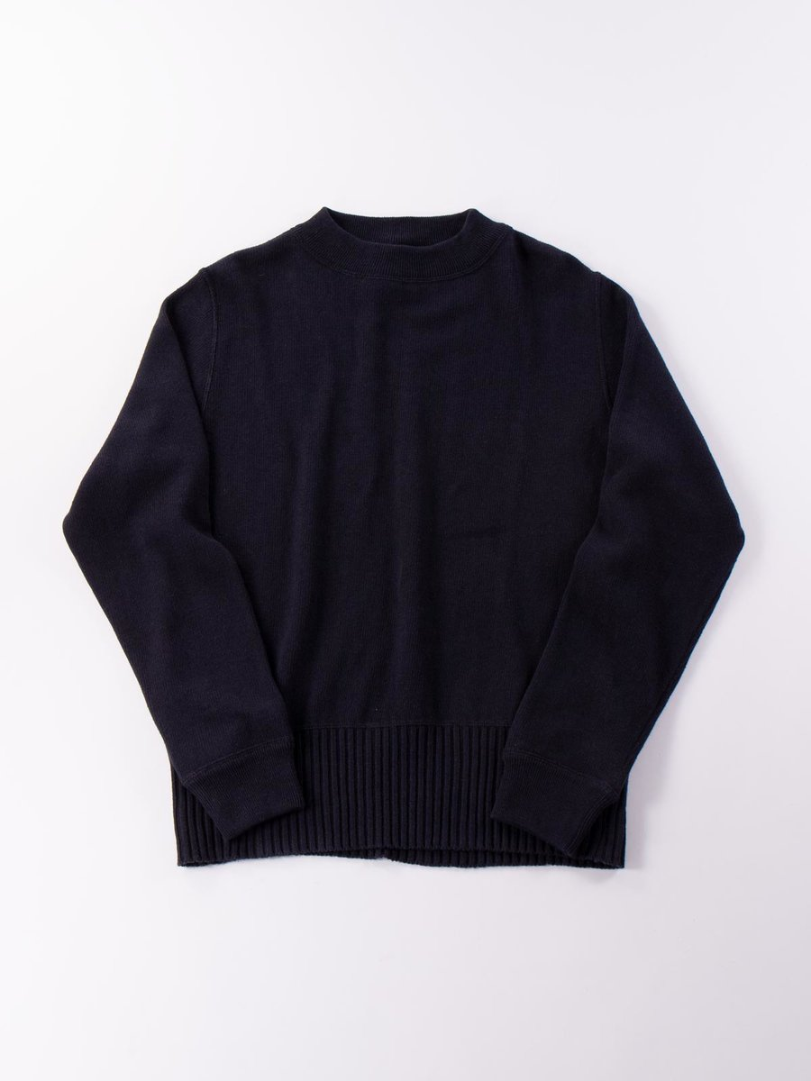 MHL OFFICERS CREW NECK DARK NAVY
