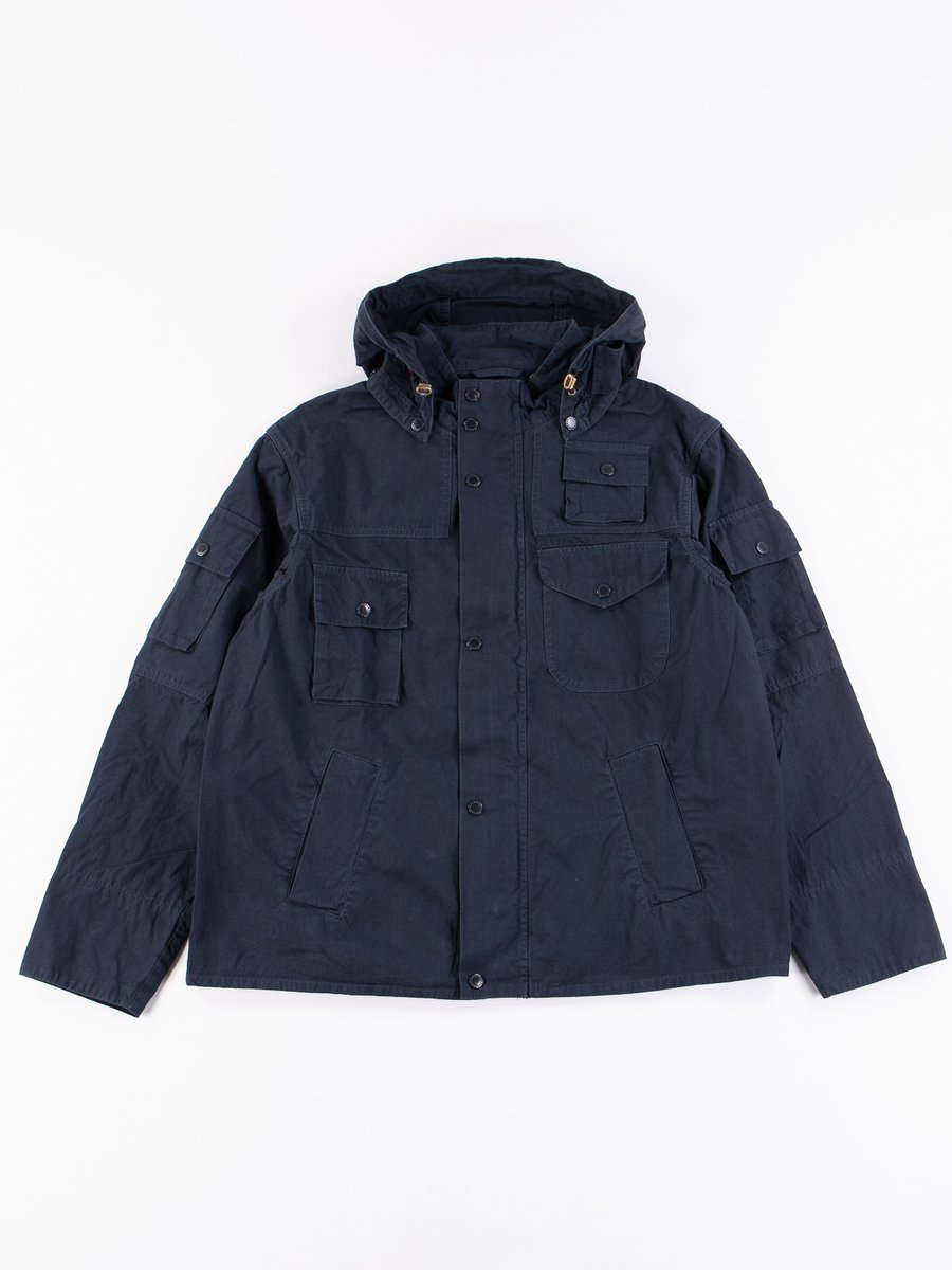 Navy Washed Cowen Jacket