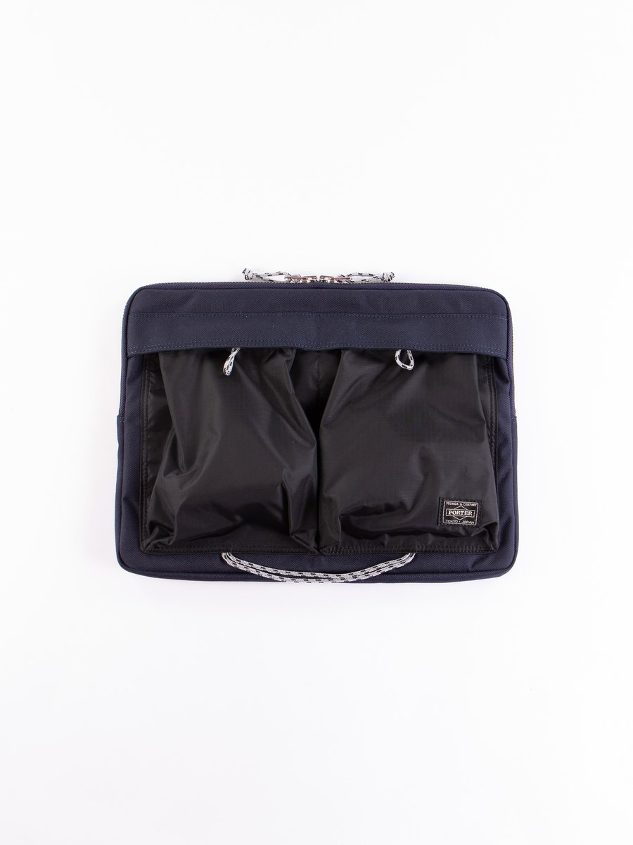 Navy/Black Hype Document Case
