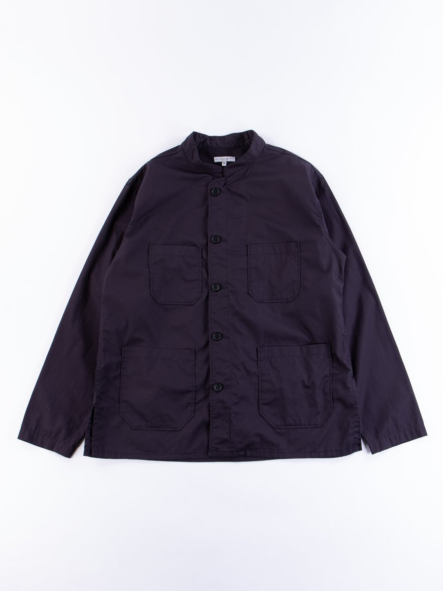 Dark Navy High Count Twill Dayton Shirt