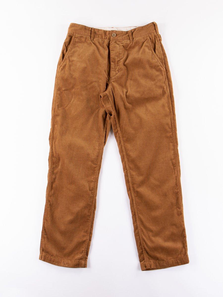 Chestnut 8W Corduroy Ground Pant