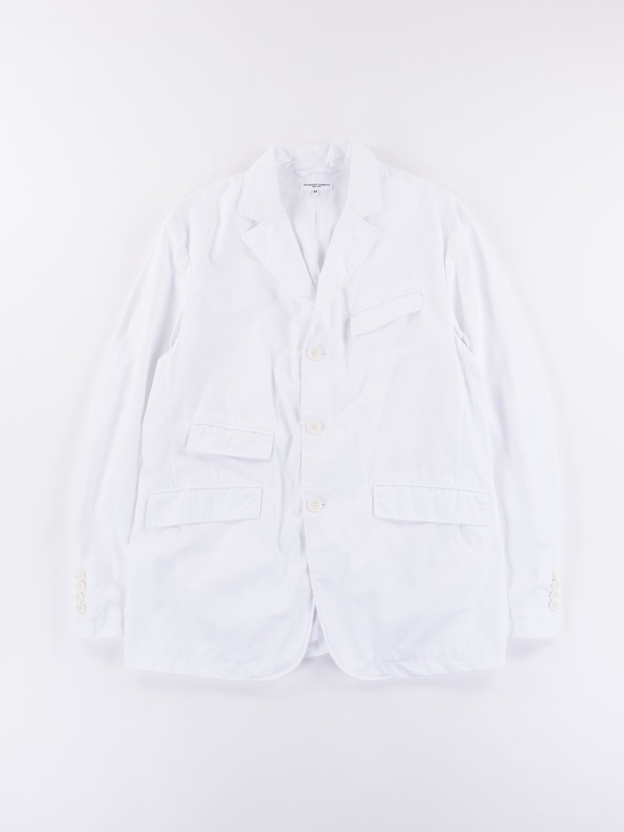 White High Count Twill Andover Jacket