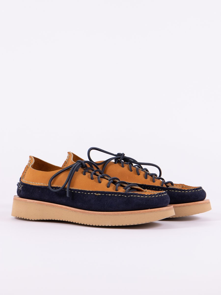 Indigo/Tan All Handsewn Sneaker Moc Ox Exclusive
