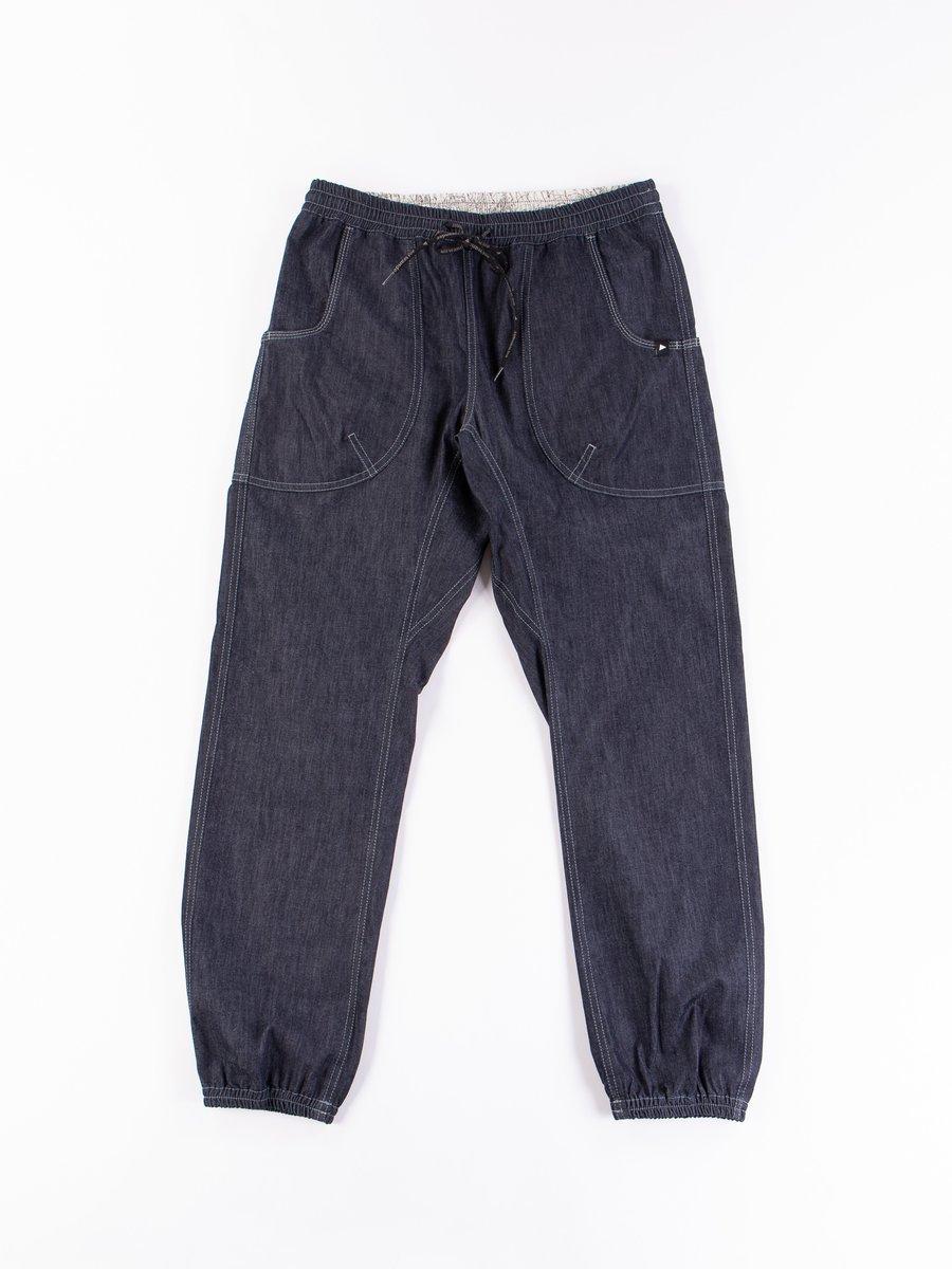 Navy Dry Easy Denim Pants