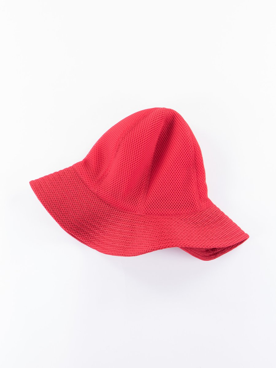 Red 6oz Spacer Mesh Dome Hat
