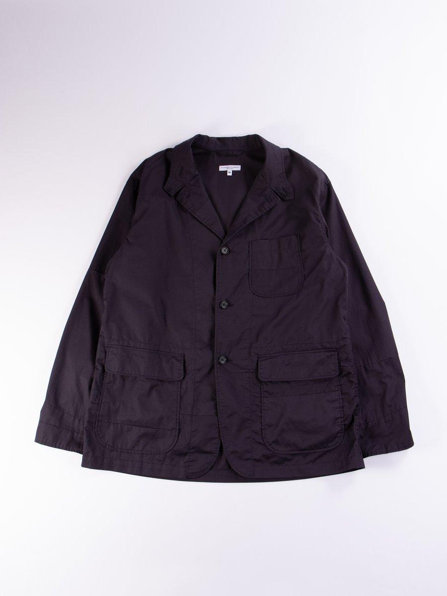 Dark Navy High Count Twill Loiter Solid Jacket