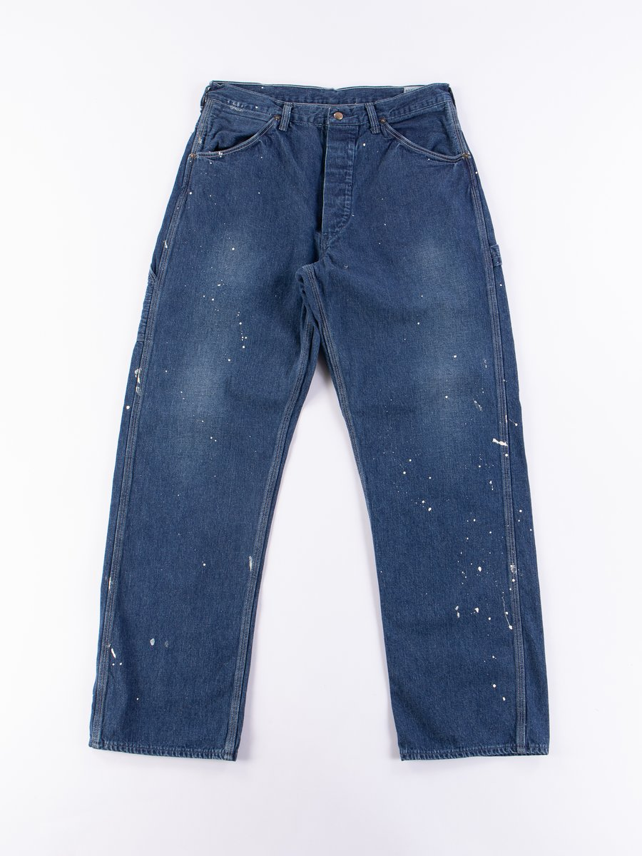 Used Wash Denim Painter Pant