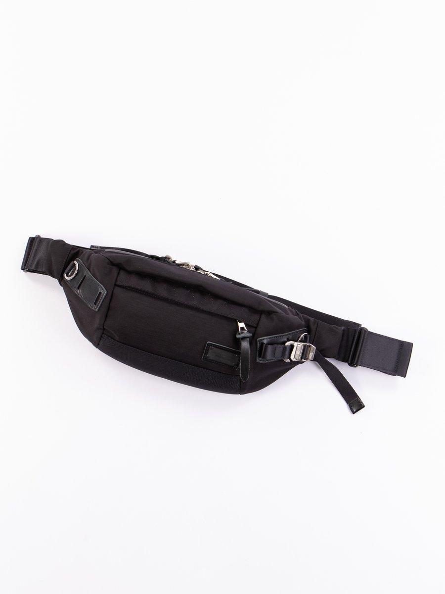 Black 01234 Hunter Waist Bag