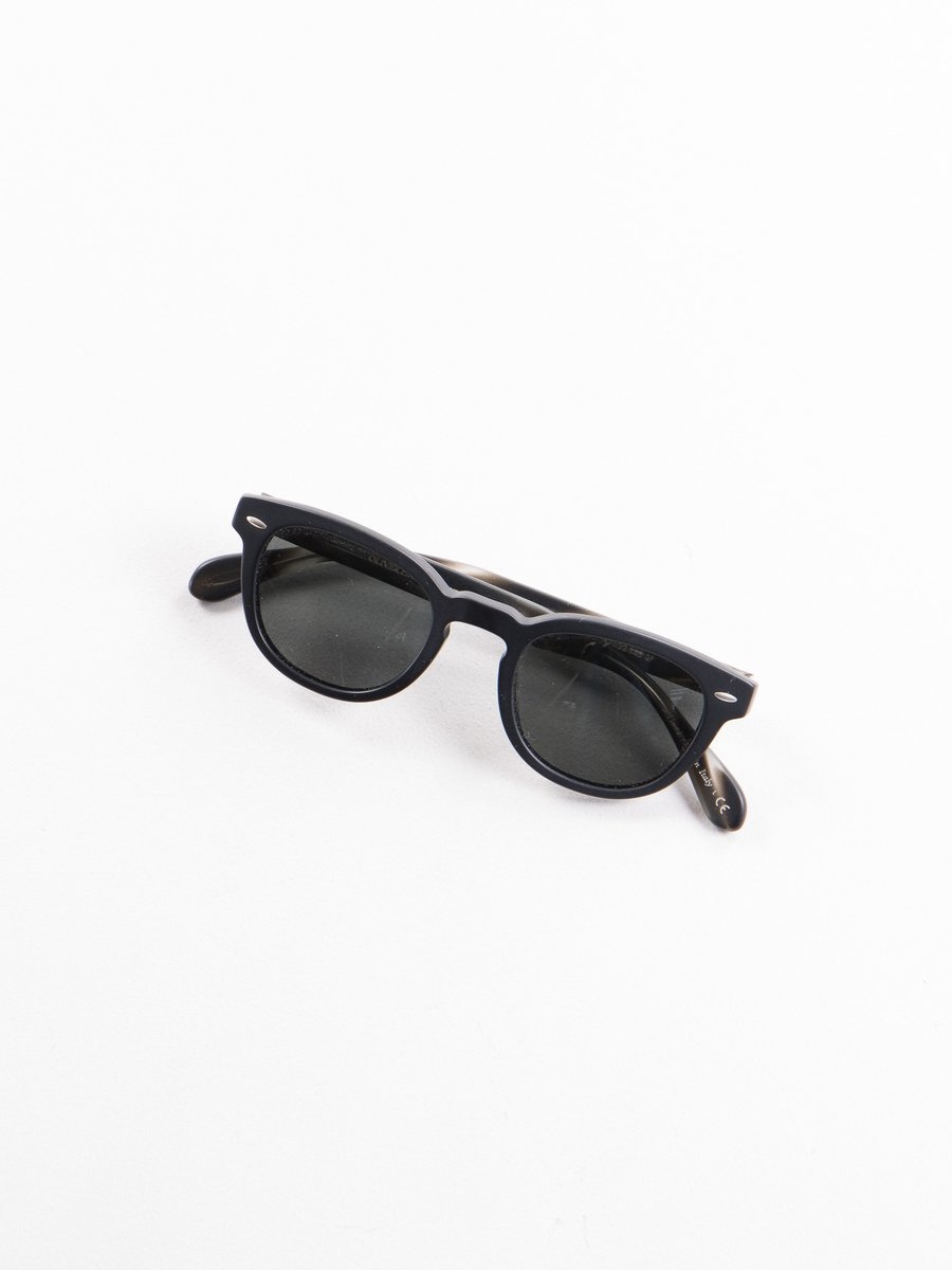 SM Black/SM Ebonywood Sheldrake Sunglasses