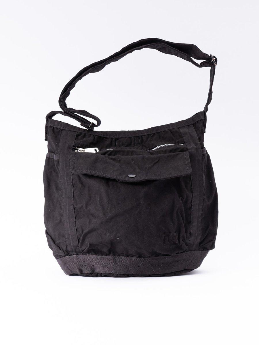CRAG SHOULDER BAG L BLACK