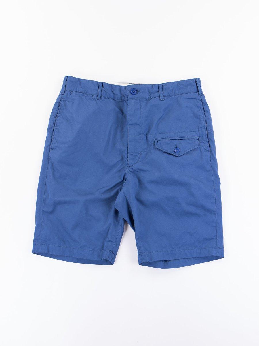 Dark Blue High Count Twill Ghurka Short
