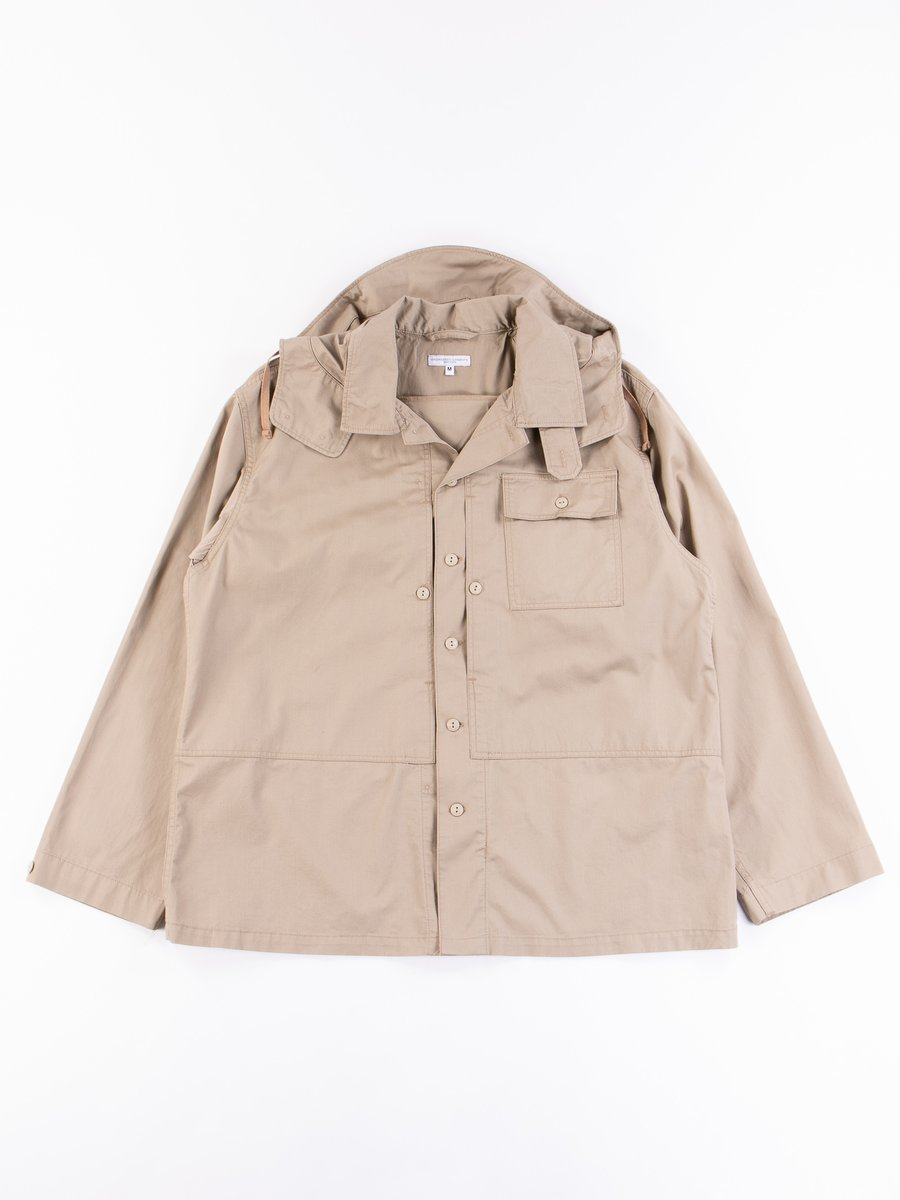 Khaki Highcount Twill MC Shirt Jacket
