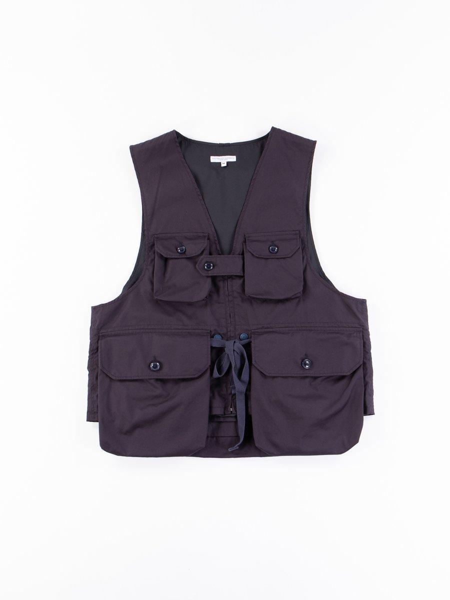 Dark Navy Highcount Twill Game Vest