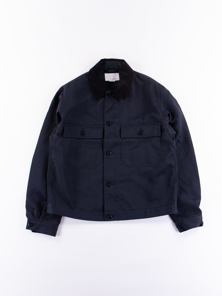 Navy Dock Jacket