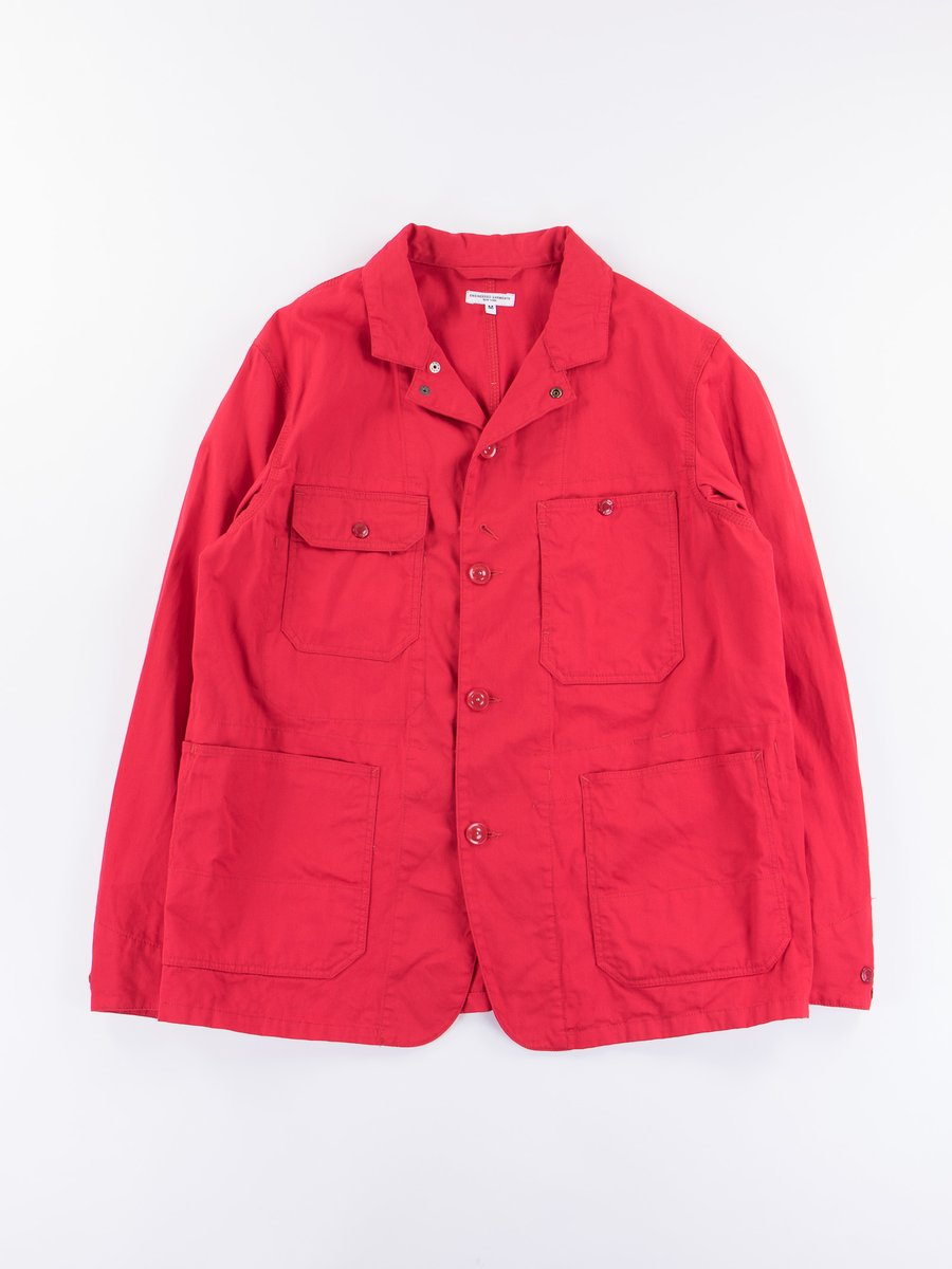 Red 7.5oz Twill Logger Jacket