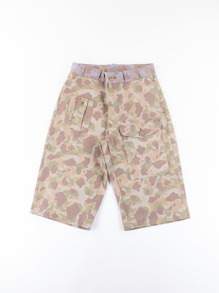 Faded Nam Camo PW Short