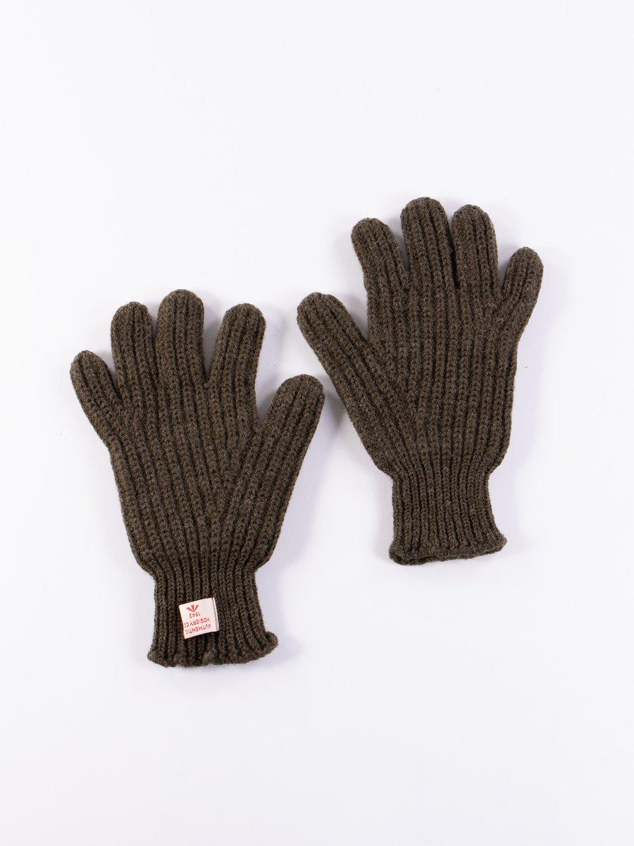 Dark Army Ribbed Goalie Gloves