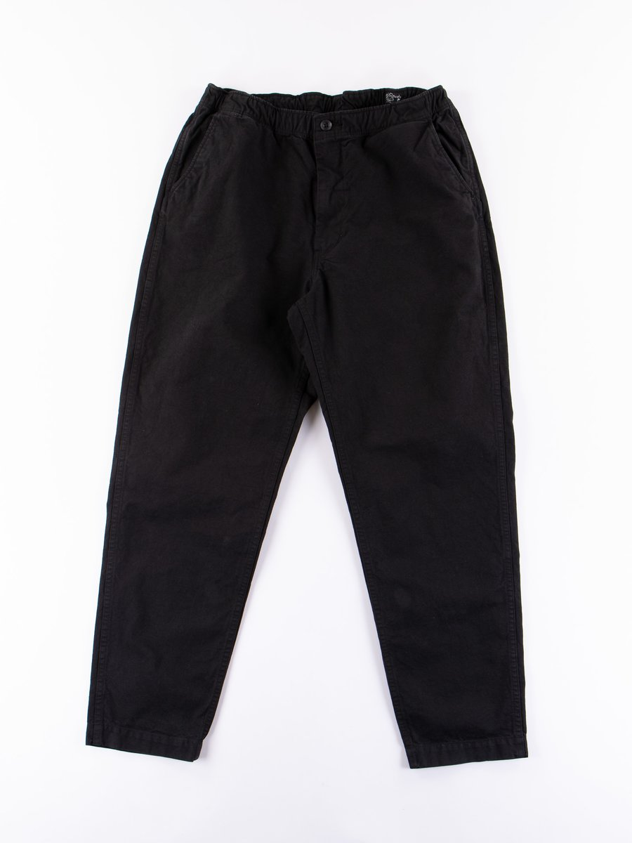 Black Overdyed New Yorker Pant