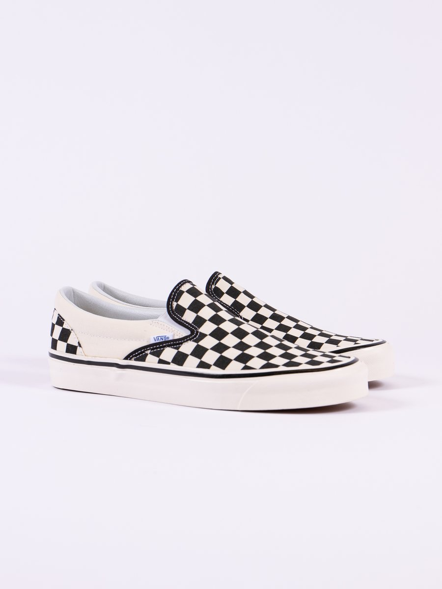 OG Black/White Checkerboard Anaheim Factory Classic Slip On
