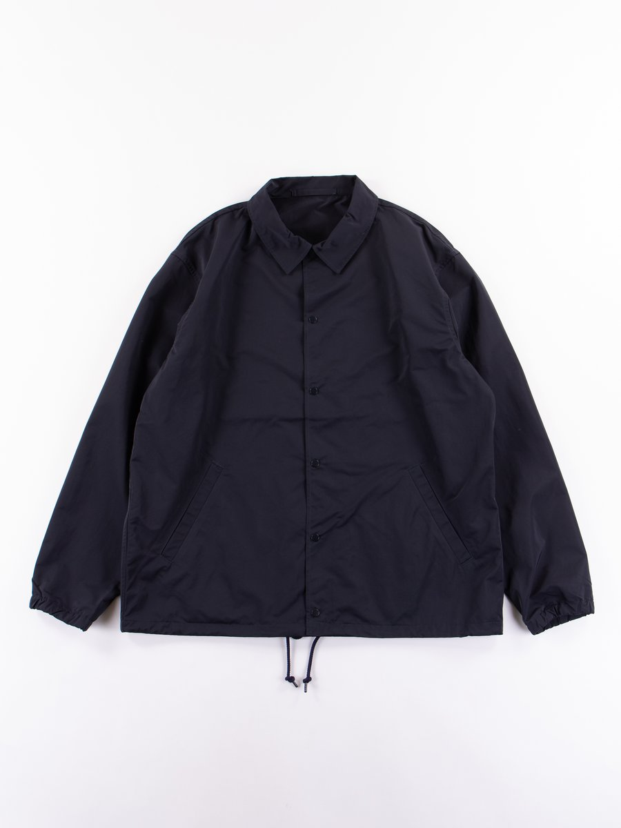 Navy Coach Jacket