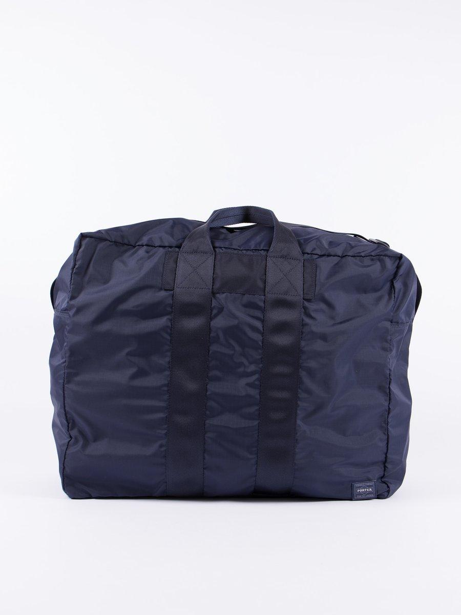 Navy Flex 2Way Duffle Bag S