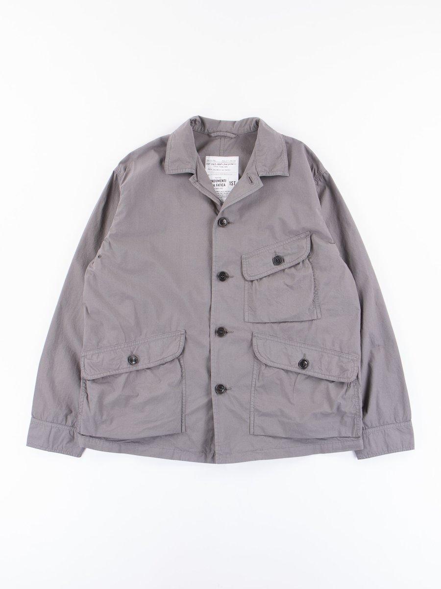 Stone Poplin Parachute Kodiak Jacket