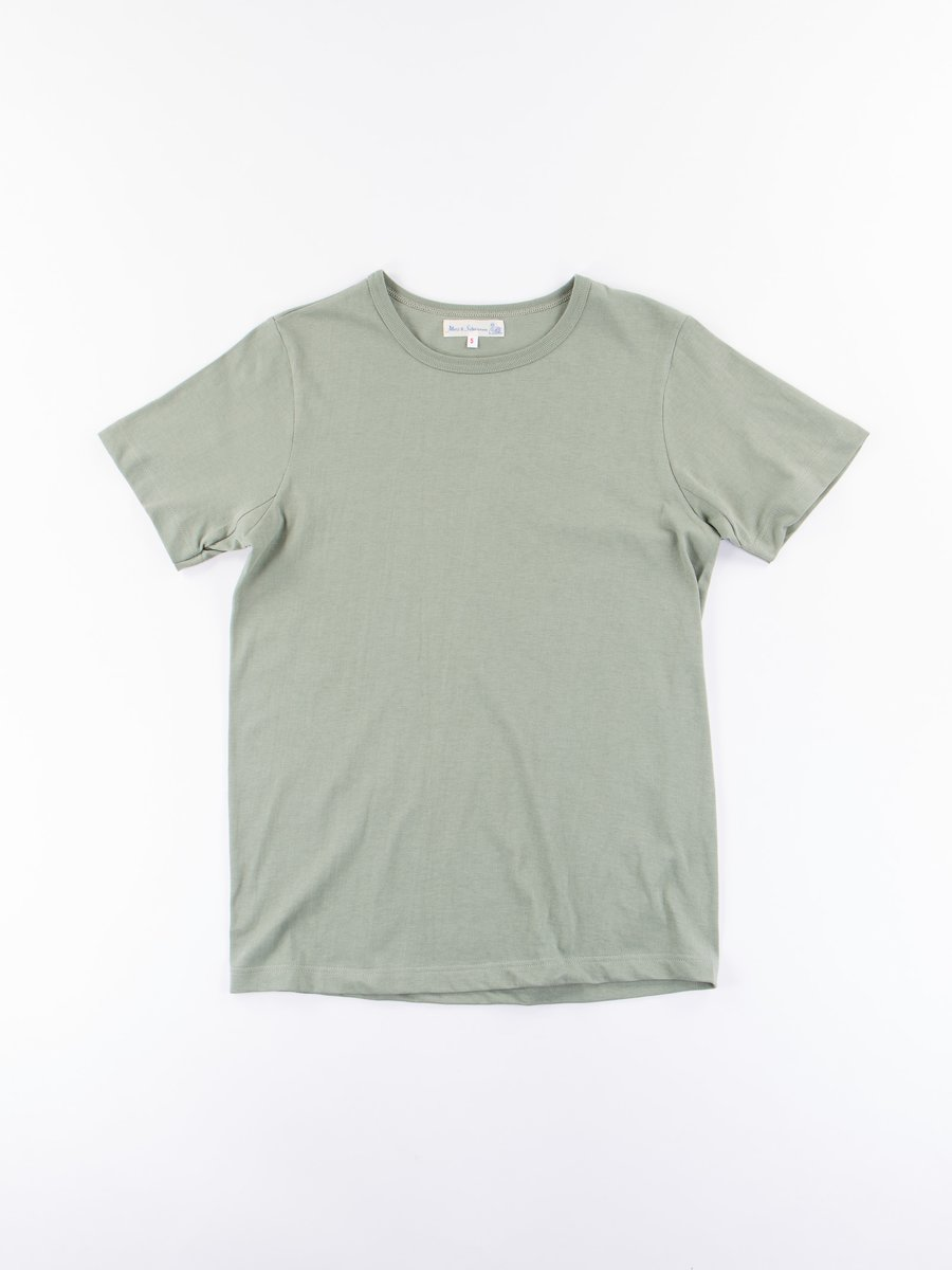 Light Army 1950s Organic Crew Neck Tee