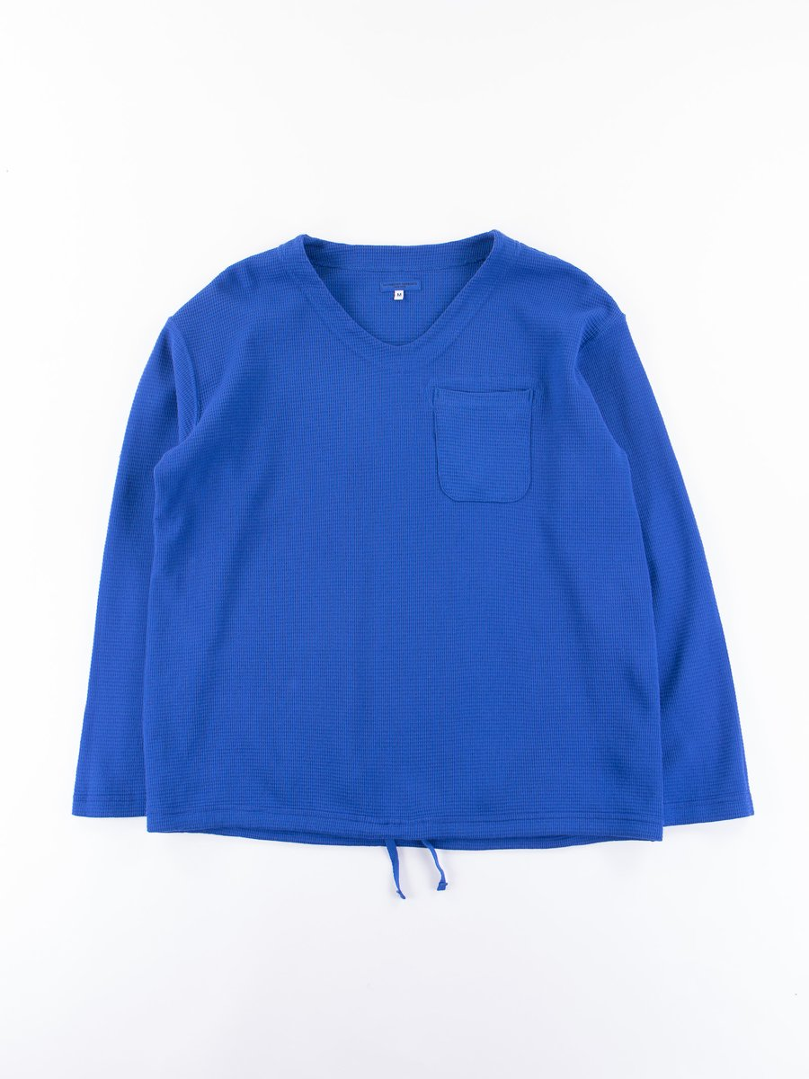 Royal Overdye Cotton Thermal U Neck Pop Over