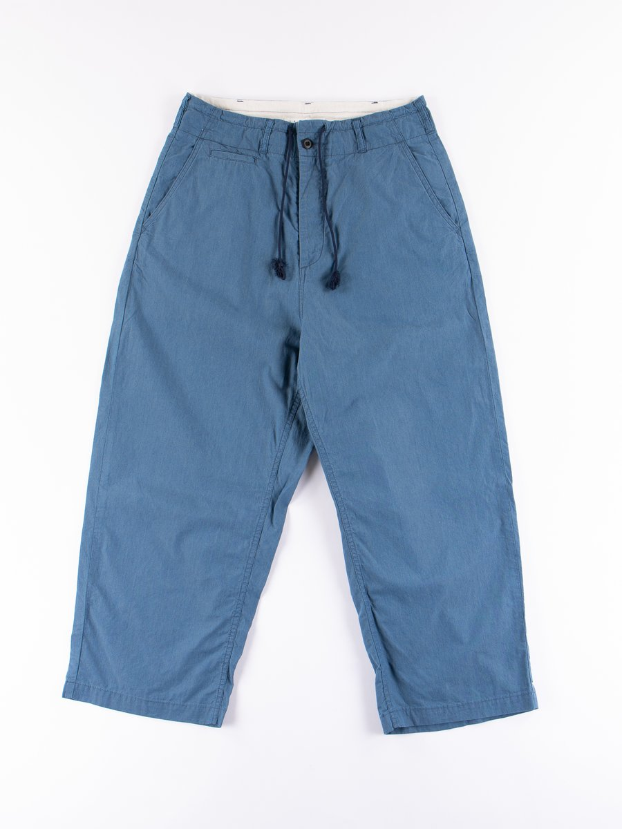 Light Indigo Relax Wide Pants