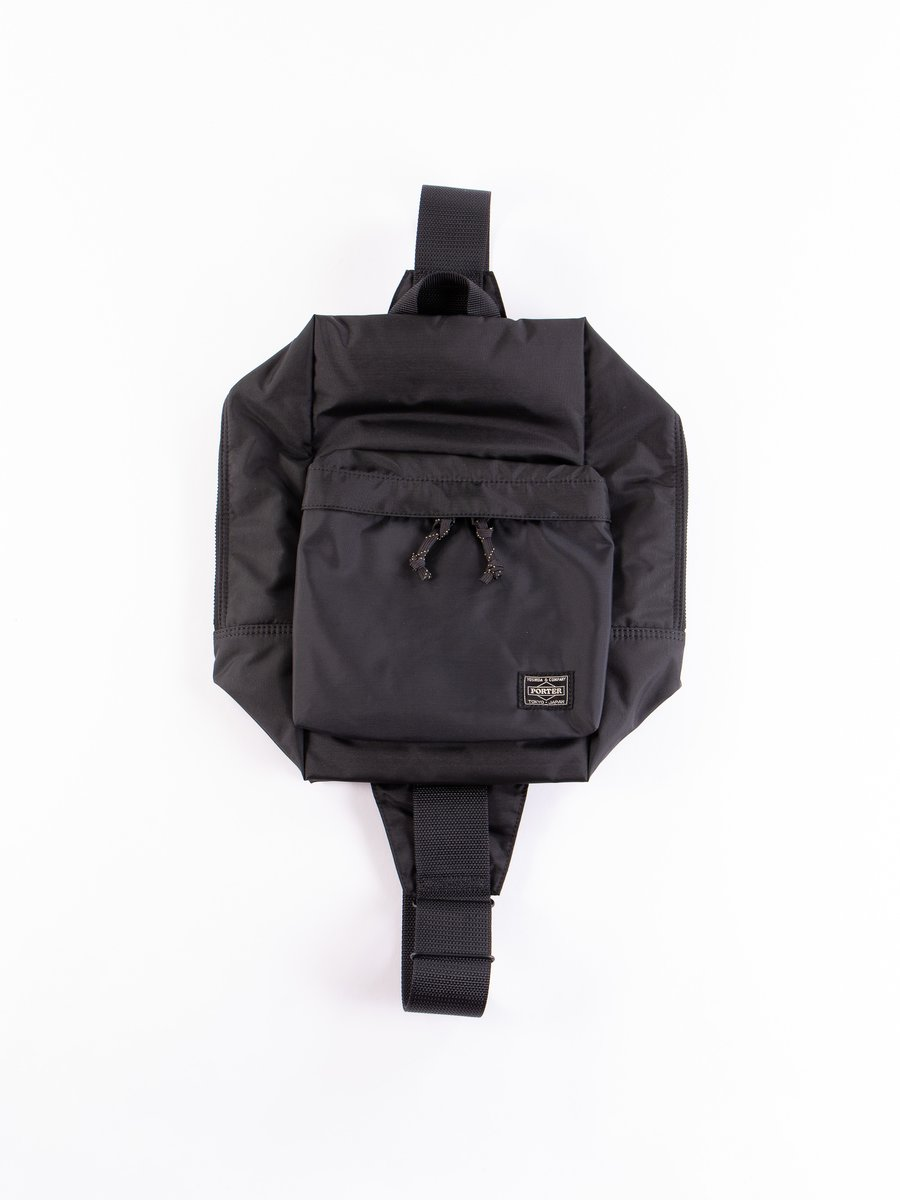 Black Force Sling Shoulder Bag