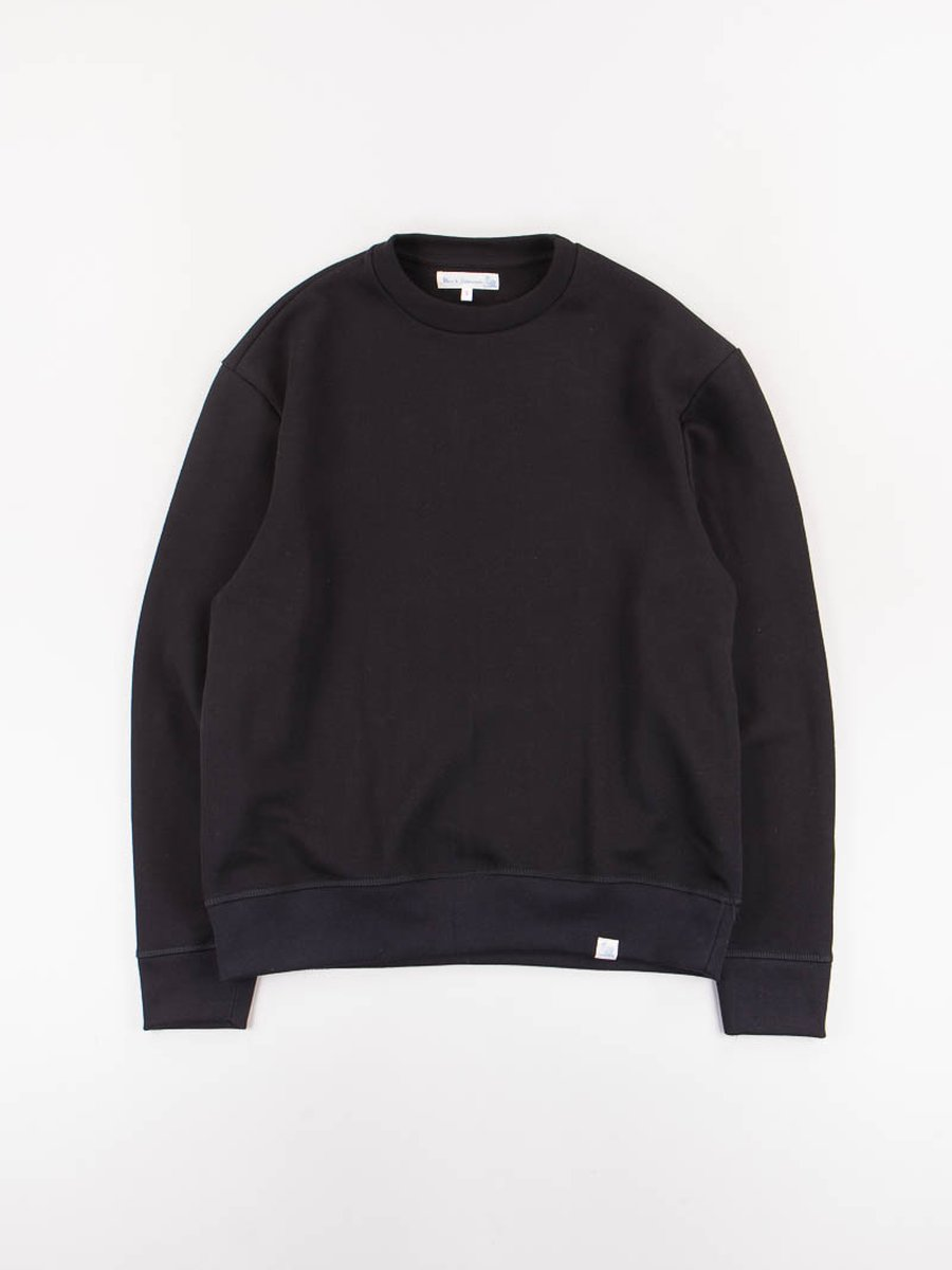 Black 346OS Organic Cotton Oversized Sweater