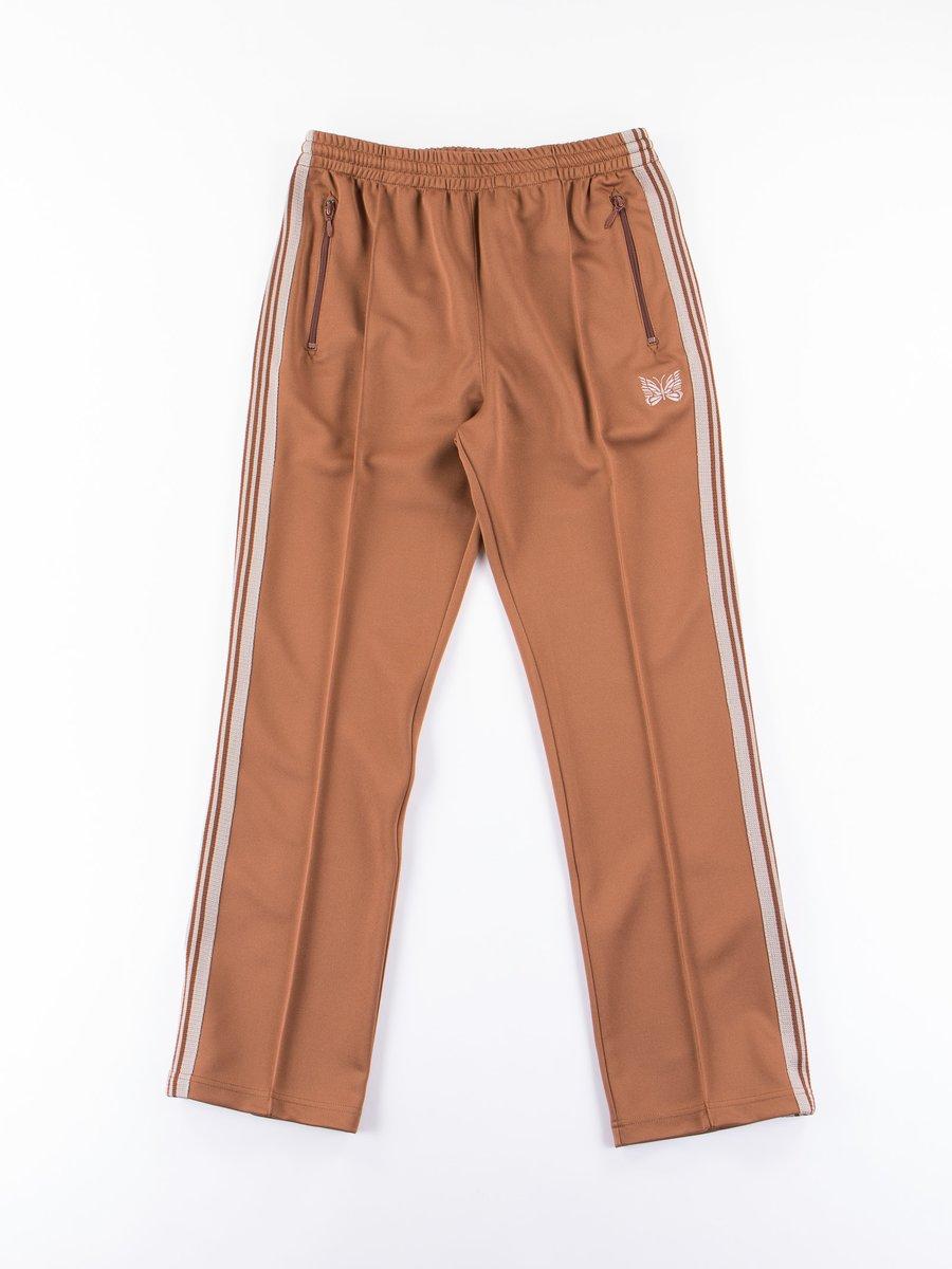 Brown Narrow Track Pant