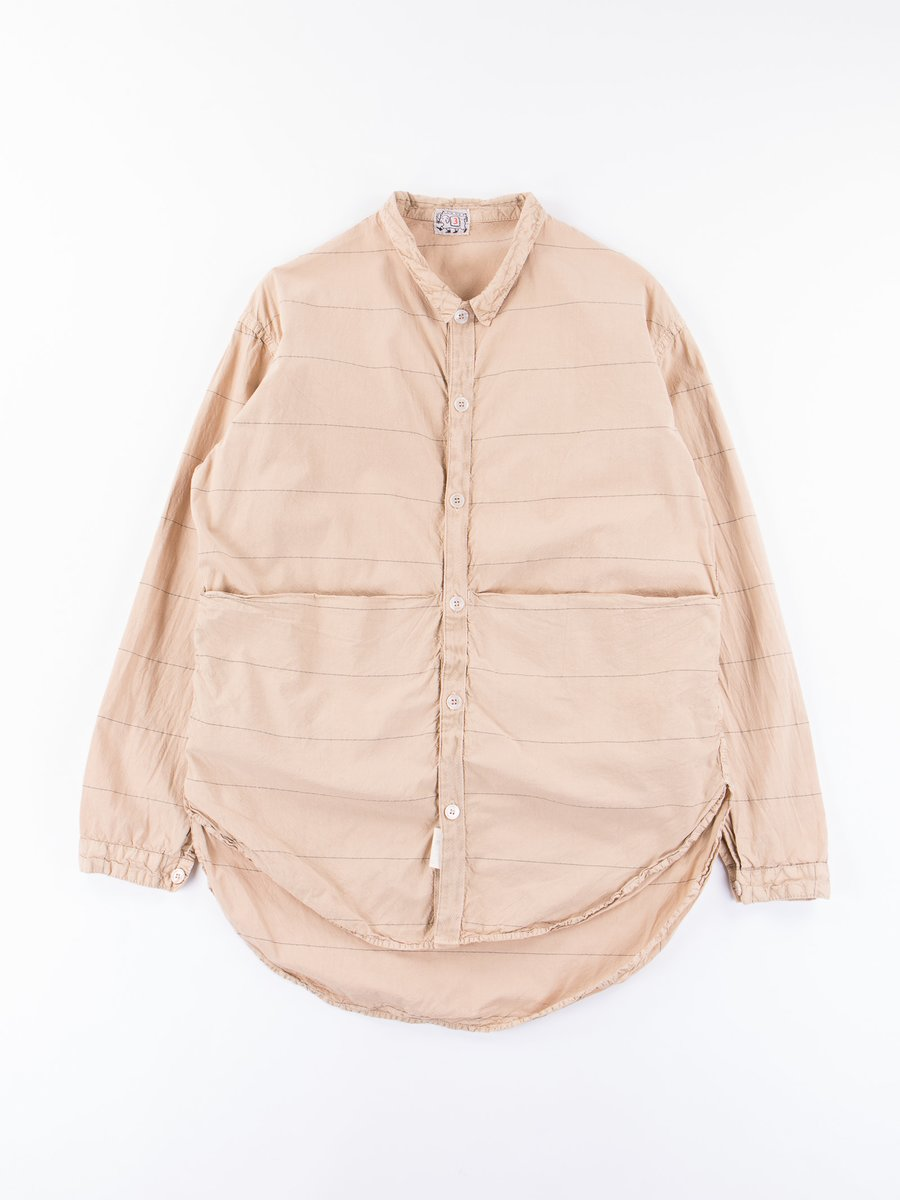 Fawn Logwood Dye Long Sleeve Tesseract Shirt