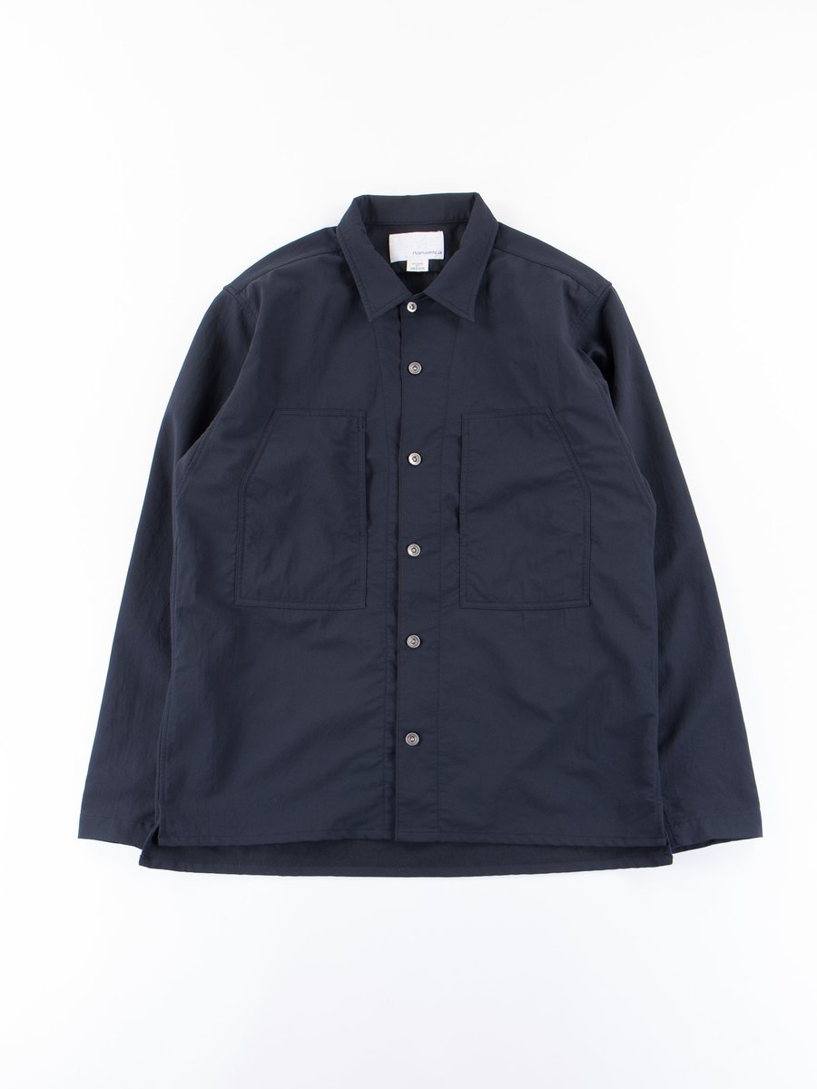Navy Alphadry Shirt Jacket