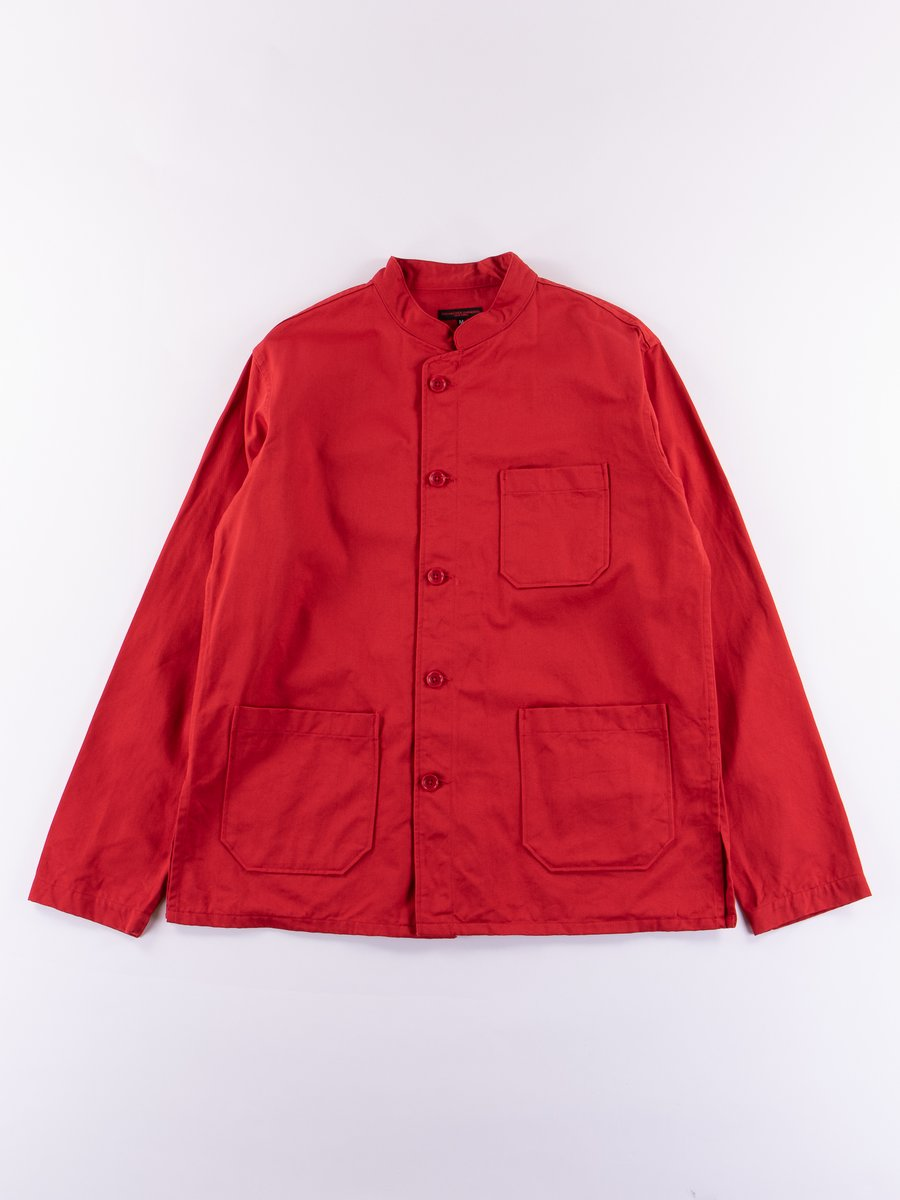 Red Chino Twill Dayton Shirt